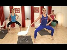 7 YouTube Barre Workouts You Can Totally Do from Home   Brit + Co                                                                                                                                                                                 Más #cardioathomevideo