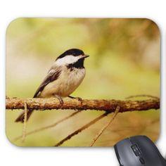 Cute Chickadee Mouse Pad