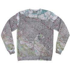 Palo Alto Map Sweatshirt