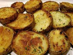 """Crispy Potato Rounds! """"Crispy outside , tender inside! Delicious little potato for breakfast or dinner sides:-)""""  @allthecooks #recipe #potatoes #side #easy #potato #quick"""