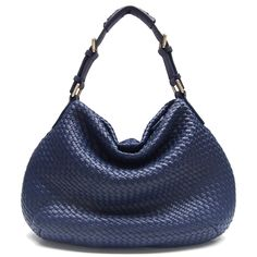 SD Marvel Star Queen Sheep Leather Weave Bag - Plus - Sapphire