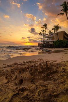plasmatics-life:  Magic Sands Sunset   Hawaii (byJustin Scott)