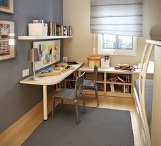 Workspace for Kids Very Small Bedroom Design Ideas By Sergi Mengot 30 Small Bedroom Interior Designs Created to Enlargen Your Space Very Small Bedroom, Small Bedroom Interior, Small Bedroom Designs, Small Room Design, Small Room Bedroom, Kids Room Design, Small Rooms, Small Spaces, Bedroom Ideas