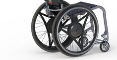 rowheels. Geared wheels developed by a NASA engineer who uses a wheelchair