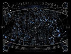 cosmo-sphere:  Constellations of the Northern Hemisphere