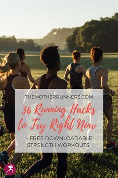 From taking ginger regularly to calm tummy troubles to salt tablets in the summer, to laying in child's pose first thing in the morning, these running hacks will help you run faster & recover easier. Plus, get a full month's worth of free downloadable strength plans! #5k #10k #halfmarathon #marathon #runner #running #runningtips #runningforbeginners #motherrunner Heavy Weight Lifting, Lift Heavy, Running Hacks, Before Running, Running Injuries, Running For Beginners, Heavy Weights, Hard Workout, Kid Poses
