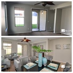 Another great before and after from Staging Furniture!