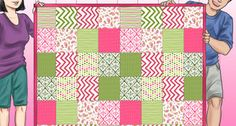 3 Ways to Make a Patchwork Quilt - wikiHow