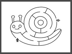 printables for kids Snail Craft, Learn Turkish Language, Mazes For Kids, Felt Crafts Patterns, Baby Quilts, Printables, Learning, Snails, Maths