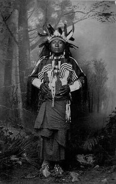 Comanche John, Mescalero Apache. 1886