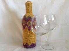 wine bottle covers, wine sleeve, handmade, knitted, gift idea, sweater, bottle, decoration, housewarming gift, wine bottle decor