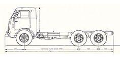Junto com o 2150 foi lançado mais uma versão do caminhão Fenemê – o 6x2 V-13.