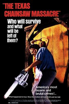 √ The Texas chainsaw massacre - Poster