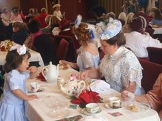 Yesteryear Productions: Edwardian Tea and Fashion Show 11-8-08