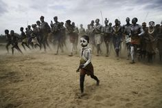 Kara tribe, clan meeting, Ethiopia - Steve McCurry
