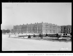 Versailles sous la neige, 1919