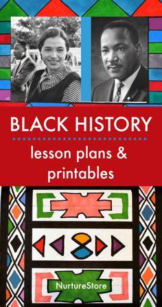 Creative lesson plans for Black History month - NurtureStore