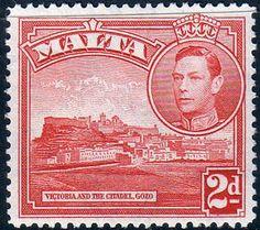 Malta 1938 King George VI SG 221b Fine Used SG 221b Scott 195A Other Malta Stamps HERE