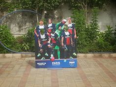 The recently opened PSG Football Academy saw football aspirants from all age groups. The first session was held on 5th and 6th July 2014 at The Shiv Nadar School, Gurgaon. Complete event fabrication and installation done by ABC Sports PVt. Ltd.