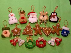 Christmas tree holiday ornament decorating by threebusybeez, $3.99