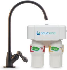 New Aquasana Under Sink Water Filter System Oil-Rubbed Bronze Faucet online - Topusashoppingsites Oil Rubbed Bronze Faucet, Brushed Nickel Faucet, Water Filtration System, Water Systems, Under Counter Water Filter, Mirror Jewellery Cabinet, Drinking Water Filter, Healthy Water, Filters