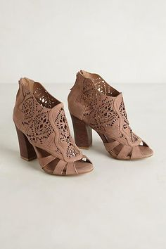 Mirelle Lacecut Booties - anthropologie.com