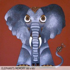 Elephants Memory (60x60)