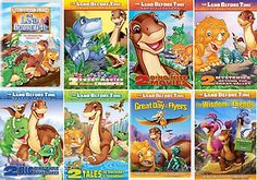 The Land Before Time Parts 1 13 DVD Lot Complete Movie