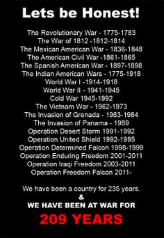 Although we didn't technically join WWI until I had noticed that every generation had seen at least one war. something to think about. The Spanish American War, Mexican American War, American Civil War, American History, American Freedom, American Spirit, History Facts, World History, History Quotes