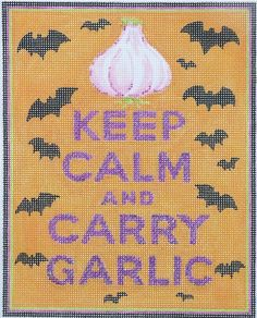 Keep Calm... Carry Garlic