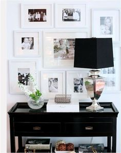 entry way photo gallery idea