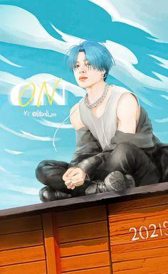 Jimin Fanart, Kpop Fanart, Bts Chibi, Anime Angel, Foto Bts, Bts Anime, Animé Fan Art, Kpop Drawings, Korean Art