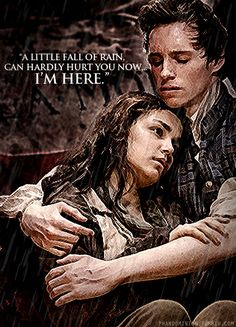 Marius and Eponine forever. If only Marius! Theatre Geek, Musical Theatre, Theater, Movies Showing, Movies And Tv Shows, Les Religions, Little Falls, Dark Night, Good Movies