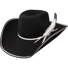 48d2c295337 Resistol® 89 Legend B Black Felt Hat www.eliswesternwear.com Mens Western  Hats