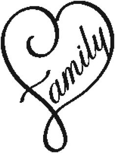 Family  a Counted Cross Stitch Pattern by WooHooCrossStitch