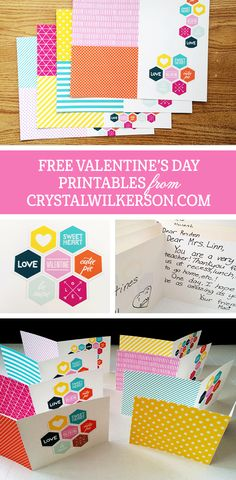 I was making some valentine's for my girls to take to school & thought I'd share these with my readers too.  I used my Epson R2000 printer, along with Epson's Ultra Premium Presentation Paper M...