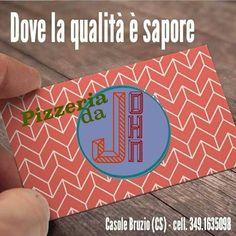 Pizzeria da JOHN in Casole Bruzio, Calabria