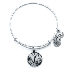 Gemini Charm Bracelet | Alex and Ani - Represented by twins, Gemini possesses an innate duality that is both mysterious and subtly brilliant. Endlessly curious, this air sign is an excellent communicator who always strives to develop a higher state of mind. Full of thoughts and ideas, Gemini loves change and leads a fast-paced, interesting life.