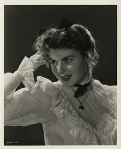 Ingrid Bergman in Saratoga Trunk directed by Sam Wood, 1945. Photo by Jack Woods.