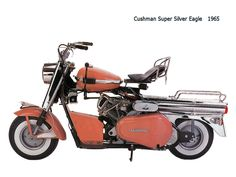 Cushman super silver eagle 1965