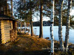 by Ann-Kristina Al-Zalimi, sauna, lake, suomi, finland, landscape, suomalainen maisema, savonia