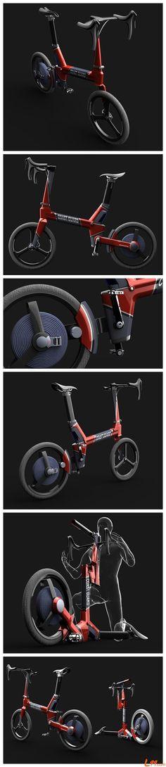 Sharpshooter Electric Bike By Jurmol Yao