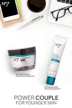 When paired together, this skincare duo puts in overtime to keep skin looking young and wrinkle-free, at a price that can't be beat. Products available at @target: No7 Protect & Perfect Intense Advanced Serum: $29.99 No7 Protect & Perfect Intense Day Cream SPF 15: $24.99