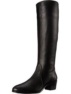 Vince Camuto Women's Forba Riding Boot, Black, 6 M US ❤ Vince Camuto