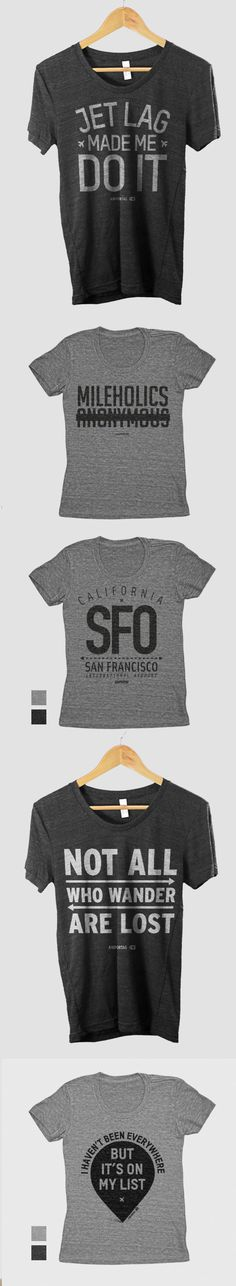 Travel Quote T-Shirts