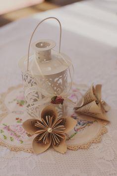 Wedding table decor - vintage