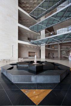 The Museum of Islamic Art at Doha, Qatar, I. M. Pei. 2008