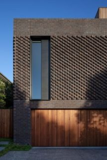 Awesome Artistic Exposed Brick Architecture Design - Page 25 of 46 Brick Architecture, Futuristic Architecture, Contemporary Architecture, Houston Architecture, Architecture Colleges, Brick Design, Facade Design, Exterior Design, Modern Brick House