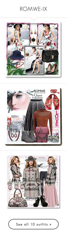 """ROMWE-IX"" by ane-twist ❤ liked on Polyvore featuring romwe, Style & Co., Cinque, women's clothing, women, female, woman, misses, juniors and Love Quotes Scarves"
