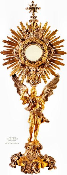 Eucharistic Adoration Monstrance Eucharistic ad